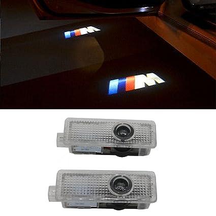 amazon com grolish 2 piece car door led lighting welcome lights