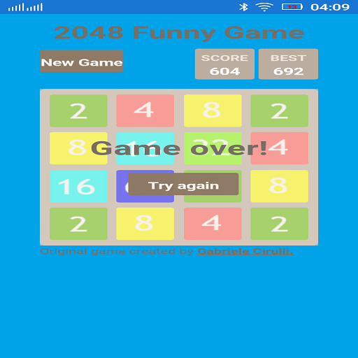 2048 The PuzzleGame