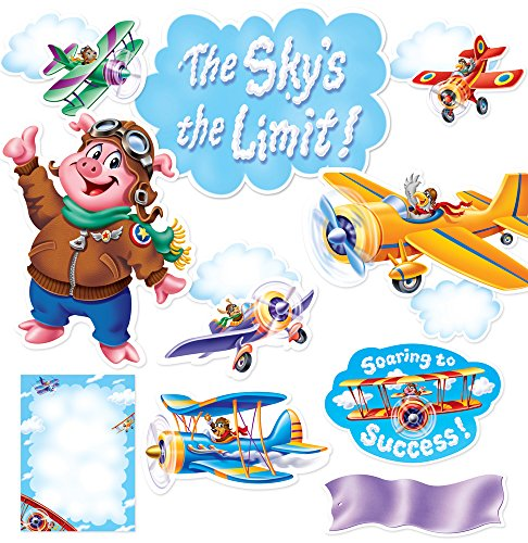 Creative Teaching Press The Sky's the Limit! Bulletin Board Set (7057)