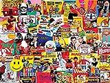 vintage puzzle - White Mountain Puzzles Pop Culture - 1000 Piece Jigsaw Puzzle