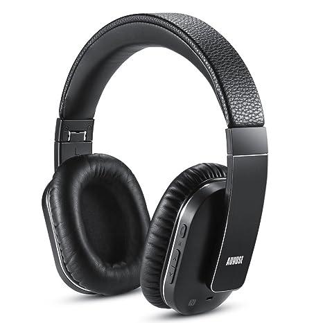 Cuffie Bluetooth Senza Fili con ANC - August EP750 - Cuffie con  Cancellazione Attiva del Rumore e92fe1be839e