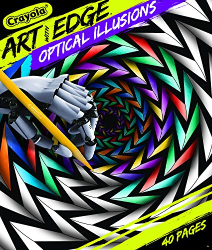 (Crayola Optical Illusions Coloring Book Optical Illusions )