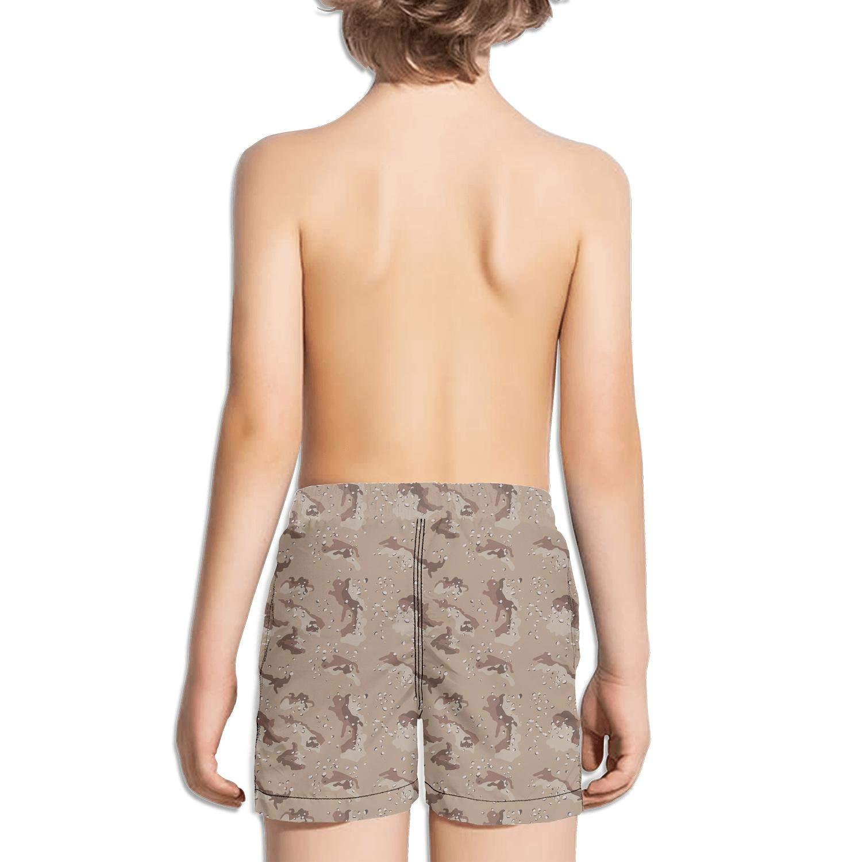 uejnnbc Desert camo Holiday Printed Quick Dry Swimming Trunks Shorts