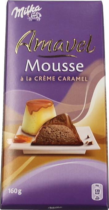 Milka Amavel Mousse Chocolat Blanc