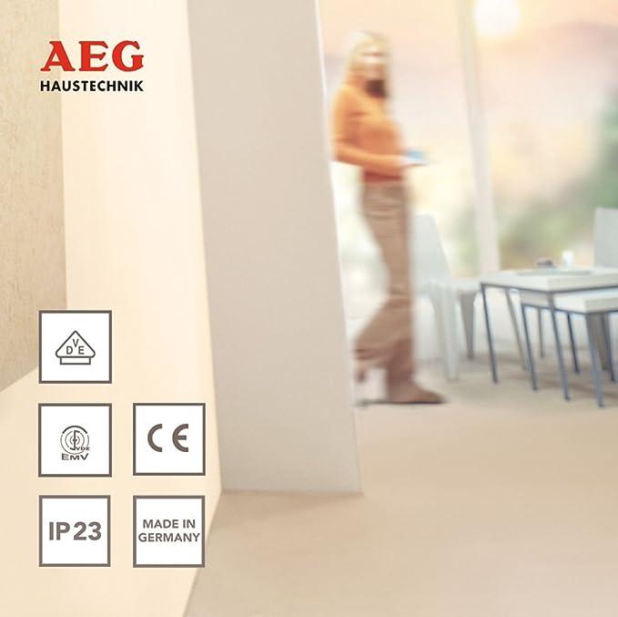 2,6 kW AEG 187929 HE 260 TM H/ändetrockner f/ür Toilettenanlagen in Gastronomie und Gewerbebetriebe