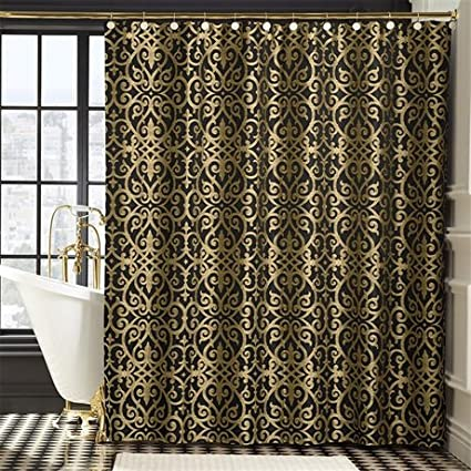 silver and gold shower curtain. Bombay Sarto Shower Curtain  Gold 72x72 Quot Amazon Ca Home Kitchen