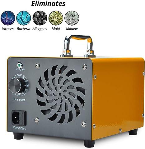 Generador de ozono Podazz, comercial 10000 mg / h 80W O3 Máquina ...