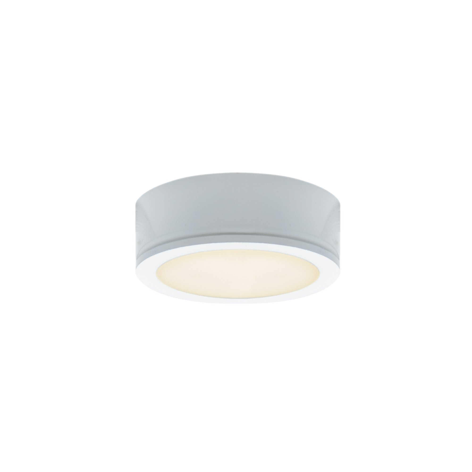 DALS Lighting 6001-WH 2.75'' Power LED Under Cabinet Puck Light, White