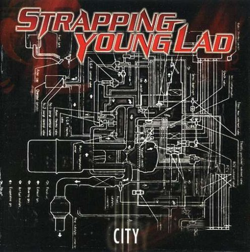 City by Strapping Young Lad Enhanced, Original recording remastered edition (2007) Audio CD (Young Lad City Strapping)