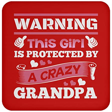 Advertencia de que esta niña está protegida por un Grandpa ...