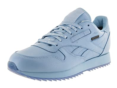 c9e4e8fde711 Reebok Classic Leather Ripple GTX Mens (Raised by Wolves) in Cape Blue White