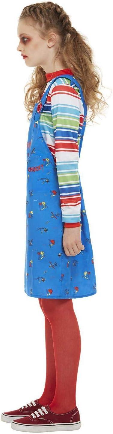 Smiffys 82006M - Disfraz de Chucky con licencia oficial, para niña ...