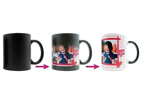 amazon com custom photo magic mug personalized color changing mug