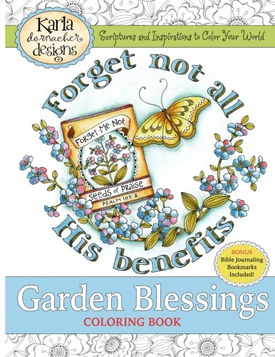 Garden Blessings: Scriptures and Inspirations to Color Your World Blessings Garden