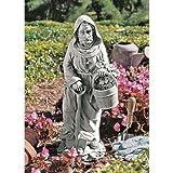 Small St Fiacre Gardeners Patron Statue Design St. Fiacre Garden Saint