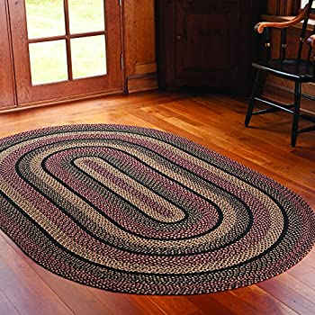 with of color oval view rugs and antique braided large wide bands htm rug vintage shop image