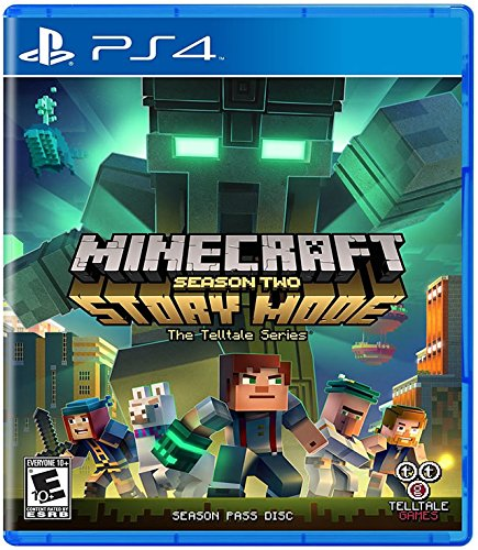 Minecraft: Story Mode - Season 2 - PlayStation 4 Standard - Four Stores Seasons