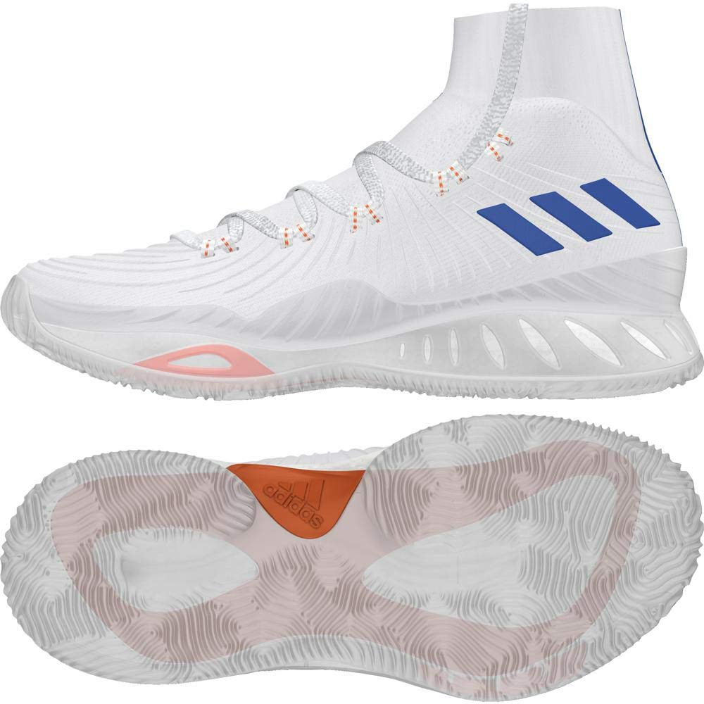 f79822b29ba7 adidas Men s Crazy Explosive 2017 Primeknit Basketball Shoes  Amazon.co.uk   Shoes   Bags