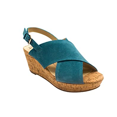 b8634667922e Isaac Mizrahi Live! Maddie Heeled Shoes Blue 9 M  Amazon.co.uk  Shoes   Bags