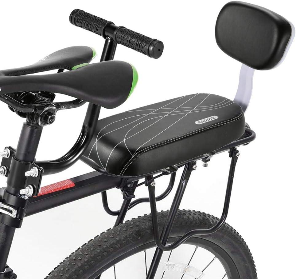 Sedile Posteriore della Bici YanYun Set di Poggiapiedi del Bracciolo del Sedile Posteriore della Bicicletta