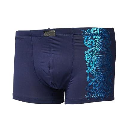 CXSM Ropa Interior para Hombres Pantalones Boxer para Hombres Pantalones Boxer para Cintura y Cintura de