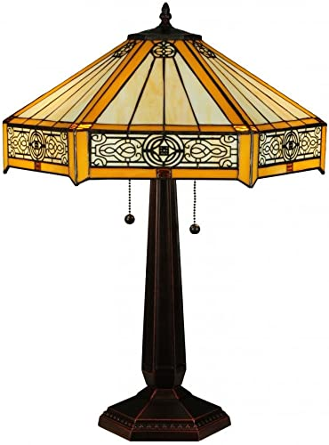 Meyda Tiffany 138116 Lighting, 24.5 Height, Finish Antique Copper,Mahogany Bronze