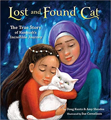 cover image, Lost and Found Cat