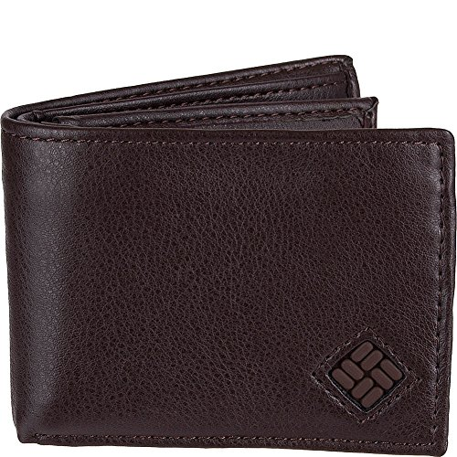 Columbia X-Capacity Slimfold Wallet with RFID protection (Brown)