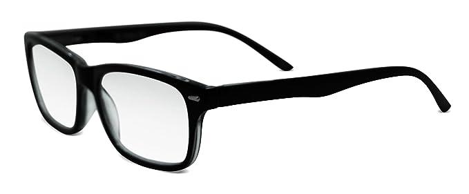 eeb53b9397 Amazon.com  In Style Eyes Seymore Progressive BiFocal Glasses Black ...