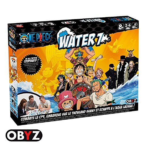 (Abysse America Inc. ONE PIECE - Water 7 Battle Board Game by ABYstyle)