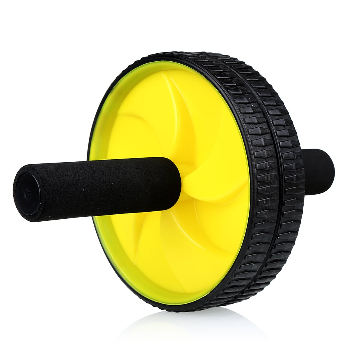 CCBETTER Bauch-Übung Fitness Rad Roller – Core Muscle Schulung