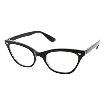 4f4d054f79d9 Image Unavailable. Image not available for. Color  Women s Strong High  Magnification Power Reading Glasses Stylish Cat Eye Readers ...
