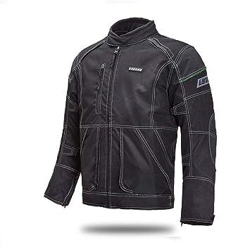 Chaqueta De Moto Hombre Impermeable Motocicleta Equipo Protección ...