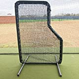 GAMERS SPORTS GROUP BASEBALL PADDED JR L SCREEN 5'x7' 2'' 14 GAUGE STEEL WITH 60 GAUGE HDPE NETTING