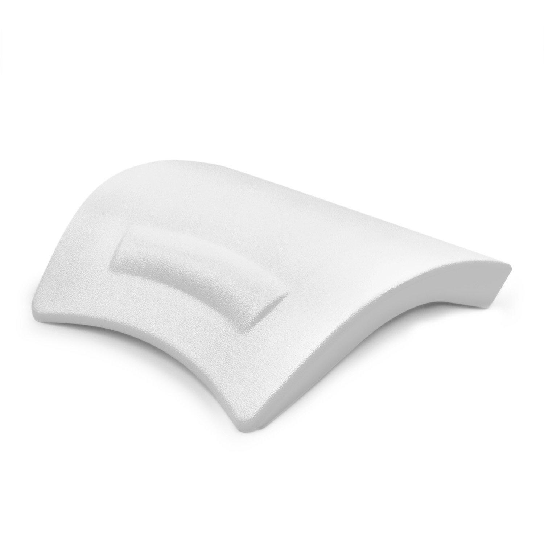 AQUADE Nackenkissen Kissen für die Badewanne mit abgerundetem Rücken (24x20cm) Modell: Alster