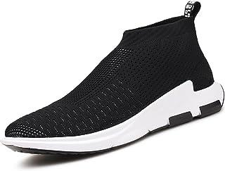 Vilocy Homme de Plein Air Lightweight Caleçon sur Fonctionnement Chaussures Décontractée Respirant en Marchant Formateurs Sneakers