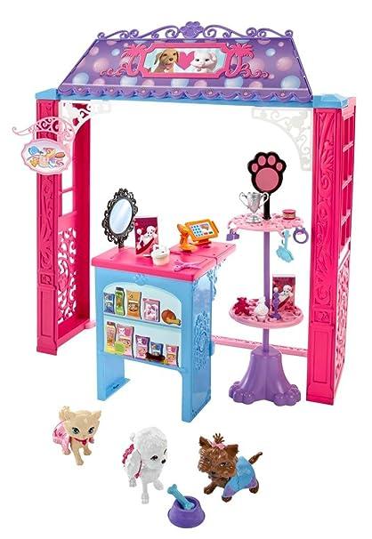 Barbie Tiendas Malibú, accesorios Pet Boutique (Mattel CCL73): Amazon.es: Juguetes y juegos