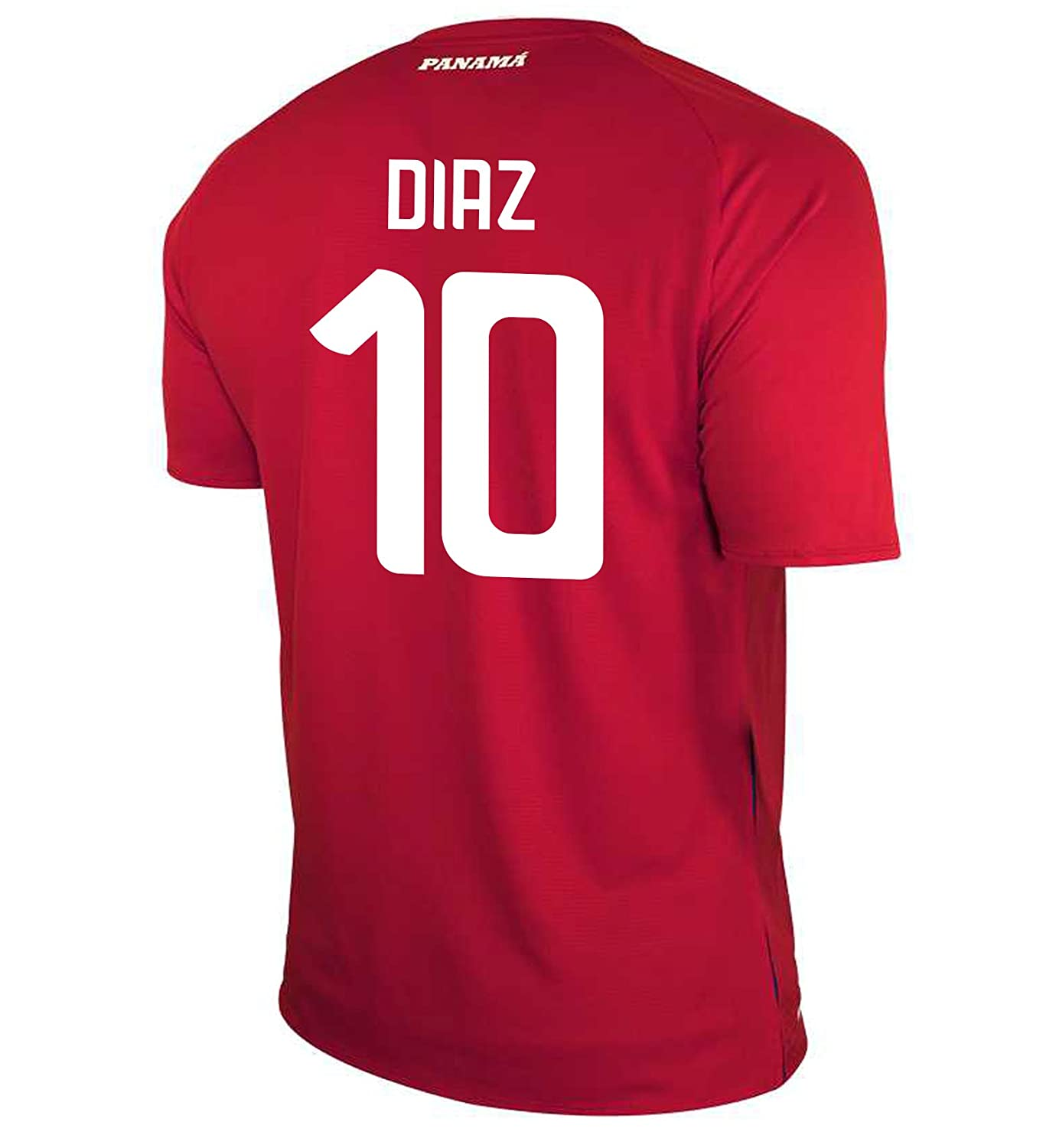 New Balance Men's DIAZ #10 Panama Home Soccer Jersey FIFA World Cup Russia 2018/サッカーユニフォーム パナマ ホーム用 ディアス #10 B07D3DD7QC US Small