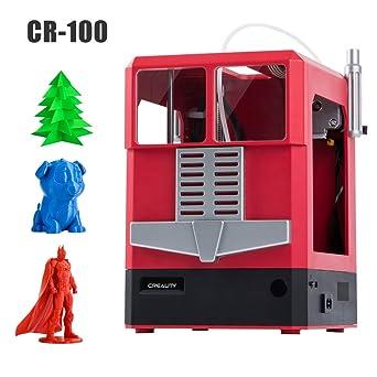 【Creality3D】CR1003Dプリンター本体成品小型組立て済みPLAフィラメントFDMこども初心者家庭用サイズ10*10*8Cm日本語説明書