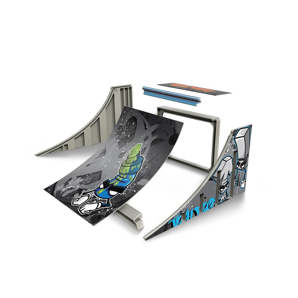 Amazon spinmaster tech deck build a ramp playset quarter pipe amazon spinmaster tech deck build a ramp playset quarter pipe toys games baanklon Gallery