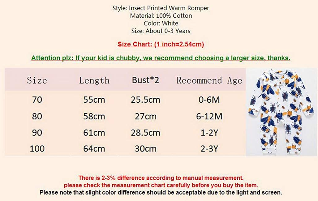 Soft Cotton Infant Baby Kid Boy Girl Clothes Jumpsuit Romper Long Sleeve Animals Set Printed Outfit 0-3T