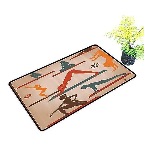 Amazon.com: gmnalahome Front Door Mat for Indoor Outdoor ...