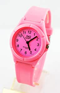 Water Resistant Rubber Wristwatch Pink Color , 2725603568440