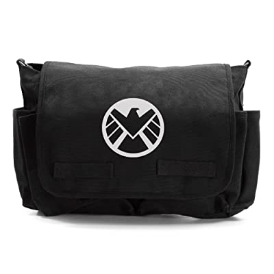 Agents of Shield Logo Army Heavyweight Messenger Shoulder Bag