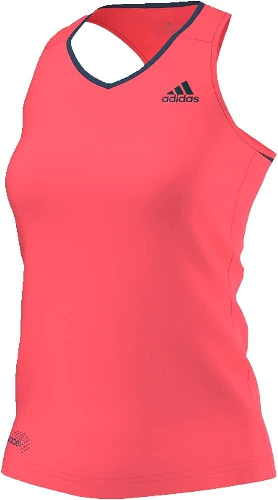adidas Club Tank Camiseta sin Mangas, Mujer, Rojo (Rojdes ...