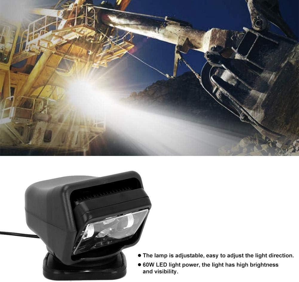 faretto da ricerca a LED da 7 pollici con telecomando per ricerca 60W Faro per auto