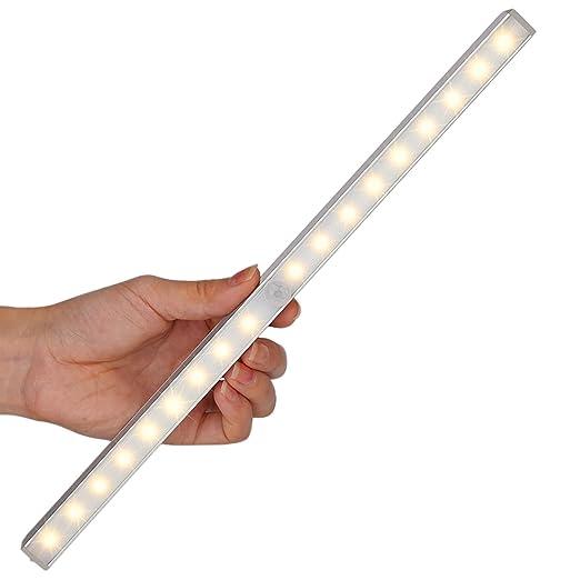 158 opinioni per LOFTER Luce Wireless Ricaricabile a 18 LED con Sensore Luce e Movimento, 3