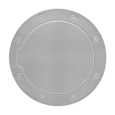 Bully SDG-102 Stainless Steel Fuel Door Cover: Automotive
