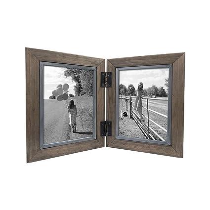 Amazon Thresholdtm 2 Opening Hinged Windowpane Frame Coffee