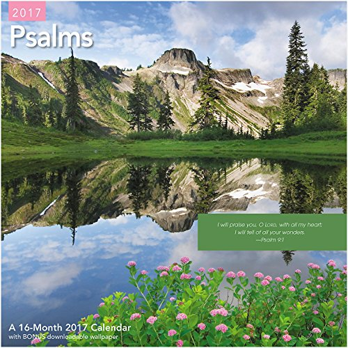 Psalms 2017 Wall Calendar